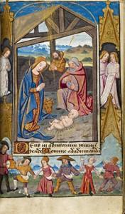 Heures à l'usage de Poitiers, fin XVe siècle, Ms 1097 / BM Poitiers