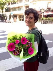 última foto em Paris