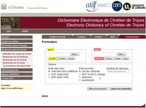 Dictionnaire Chrétien de Troyes