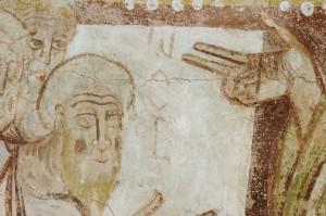Saint-Savin, Noé sortant de l'arche (cliché CESCM)