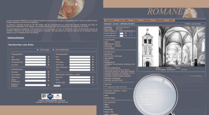 La base de données Romane … un bilan, une enquête.