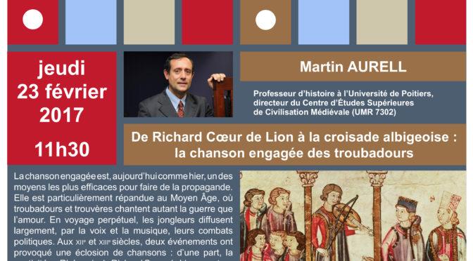 [23 février – 11h30] L'heure nécessaire de SHA : Martin Aurell