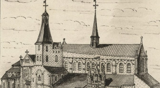 [1er déc.] Saint-Hilaire-le-Grand de Poitiers et l'architecture romane au premier XIe siècle
