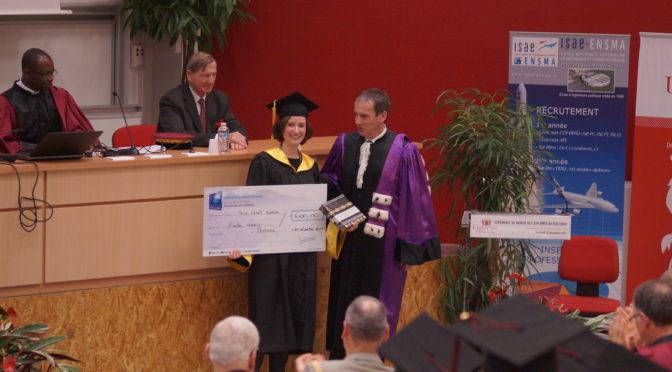Emilie Mineo, jeune docteure du CESCM lauréate du Prix de thèse 2017