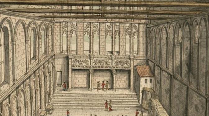 [30 avril 2019] Journée d'études – La grande salle et ses abords : contribution à l'étude des résidences palatiales et élitaires (XIe-XVIe s.)